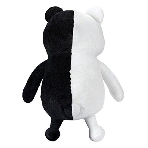 25cm Dangan Ronpa Super Danganronpa 2 Mono Kuma Black&White Bear Plush Doll Toy by HiRudolph- Buy Online in Belize at belize.desertcart.com. ProductId : 7318837.