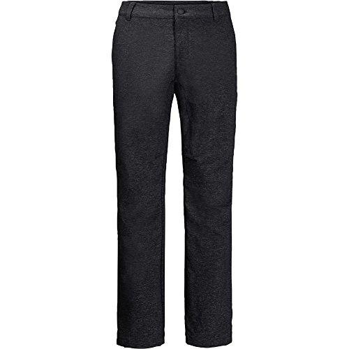Jack Wolfskin Winter Travel Pantalon Homme, Black, FR : XL (Taille Fabricant : 54)