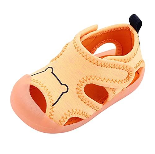 YWLINK Sandalias Deportivas NiñOs Zapatos Para NiñOs Punta Cerrada Verano Playa Sandalias Zapatos,Zapatillas Antideslizante Fondo Blando Casuales Sandalias De Color SóLido Zapatos De Calzado Plano