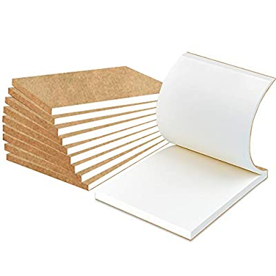 """10 Pack Blank Flipbook for Animation, Sketching, and Cartoon Creation, 4"""" x 5.55'' Animation Flip Book Mini Sketch Pad for Kids, 120 Pages (60 Sheets) by A AIFAMY"""