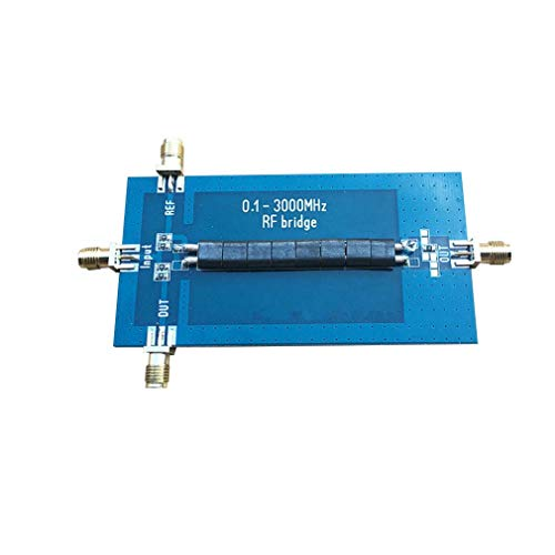 RF SWR Reflection Bridge 0.1-3000 MHZ Antenne-analyser VHF UHF VSWR Loss Blue