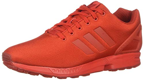 adidas Originals Herren ZX Flux Turnschuh, Rot/Rot/Rot, 46.5 EU