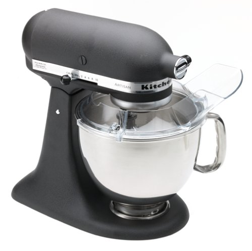 KitchenAid RRK150BK 5 Qt. Artisan Series Stand Mixer - Imperial Black (Renewed)