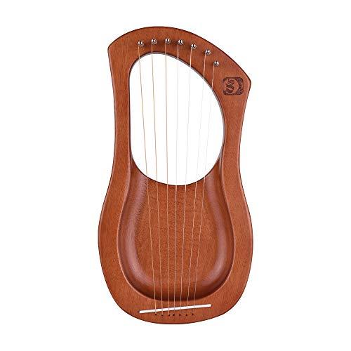 Muslady Walter.t Harpe Lyre en bois à 7...