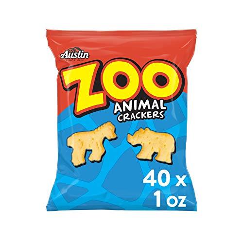 Austin, Zoo Animal Crackers, Original, 40oz Case (40 Count)