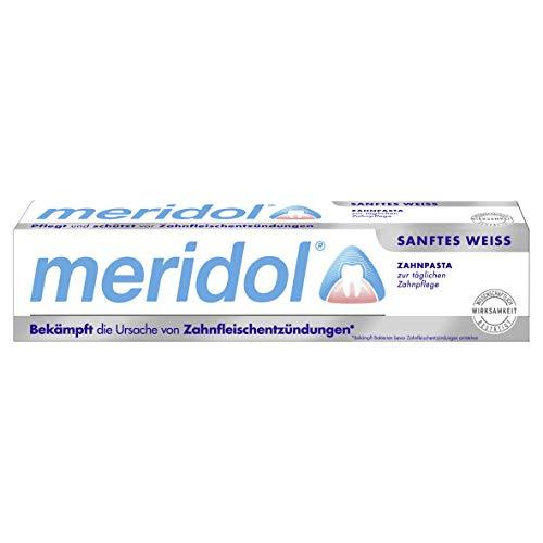 meridol pasta de dientes blanca suave, paquete de 3 (3 x 75 g)