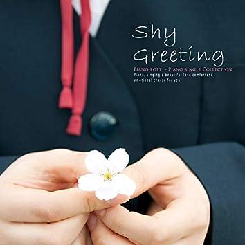 A shy greeting