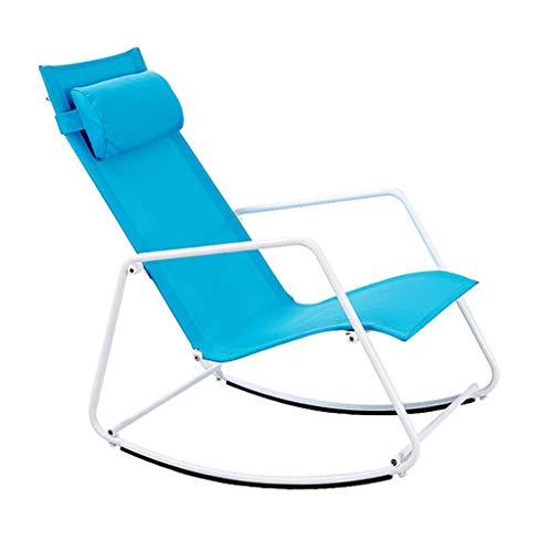 AI LI WEI Home Outdoor/schommelstoel met verstelbare rug oude stoel vrijetijdsstoel Lehner eenvoudige en elegante, veilig en comfortabel