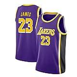 LinkLvoe Herren Trikot - NBA Lakers # 23Lebron James Mesh Basketball Swing Hochwertiges Trikot für...