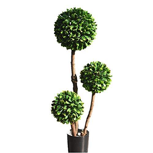 LXLTL - Planta artificial para jardín, invernadero, exterior, 90 cm