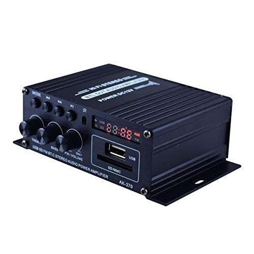 balikha 2X Control Remoto Amplificador de Sonido de Audio Amplificador Altavoz