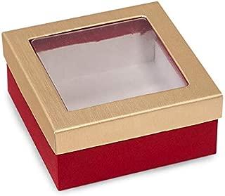 kraft rigid gourmet window boxes