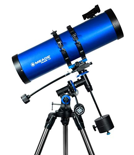 Meade Instruments 216006 Polaris 130 EQ Reflector Telescope (Blue)