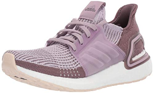 adidas Women's Ultraboost 19 w Running Shoe, Soft Vision Shade, 6.5 Standard US Width US