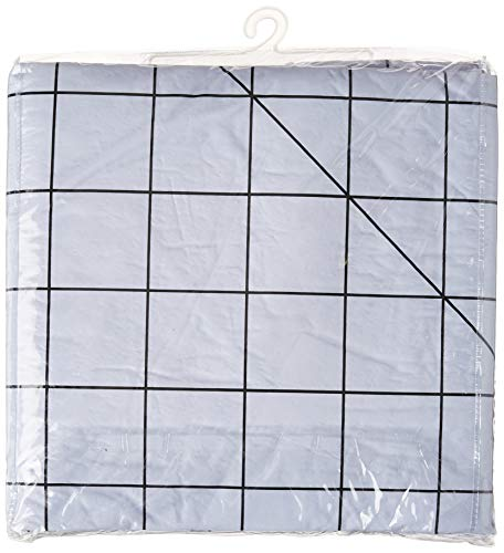 Fons & Porter 60-Inch-by-72-Inch design wall, White/Black