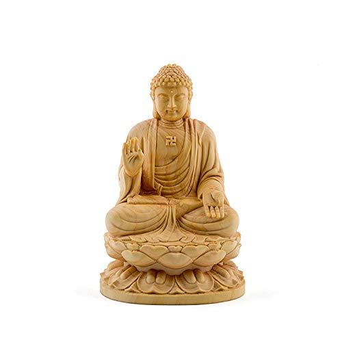 ZFLL Estatua de Buda Sentado Tailandia Budha...