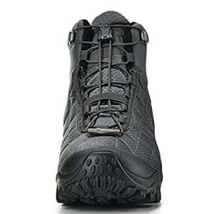 XPETI Men's Crest Thermo Waterproof Hiking Trekking Outdoor Boot (13, Grey/Black)