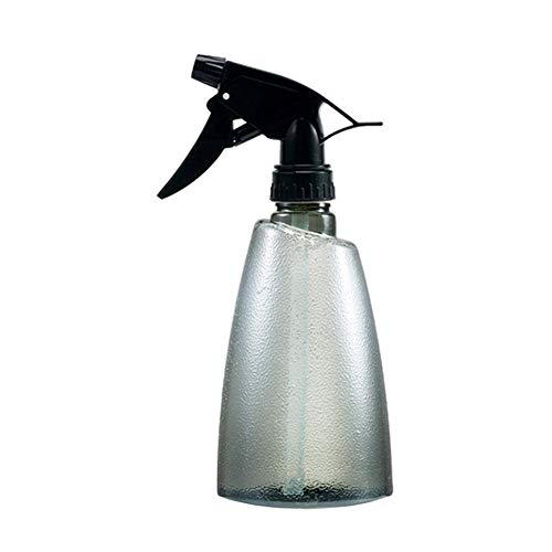 jieqing Sprayer Bottle Trigger Spray Bottle Hand Spray Bottle Empty Refillable Continuous Mist Empty Spray Bottle Spray Water Bottle Non-toxic Spray Bottle b,grey