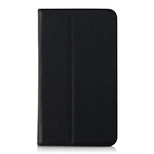 kwmobile Huawei MediaPad T1 7.0 Hülle - Tablet Cover Case Schutzhülle für Huawei MediaPad T1 7.0 - Schwarz mit Ständer - 2