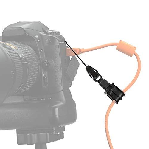 Tether Tools JerkStopper Tethering Camera Support Kabelhalter als Zugentlastung für Kamerakabel wie USB-Datenkabel, Synchrokabel, HDMI-Kabel, Auslösekabel etc.