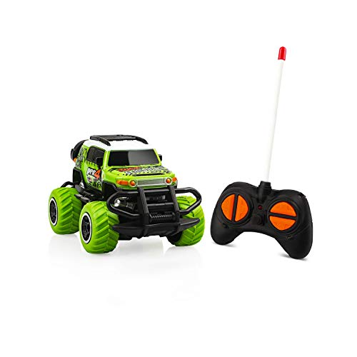 Remote Control Car for 3-4 Year Old Toddler Kids Toys Age 5 Mini Car Toys, Carros De Control Remote Toddler Small Rc Trucks Boys Christmas Birthday Gift Indoor Toys Age 3-7 Green