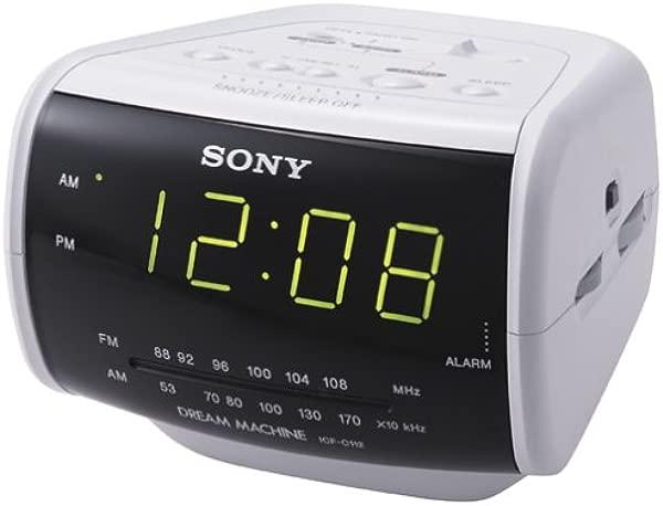 Sony ICF C112 AM FM Clock Radio Discontinued By Manufacturer