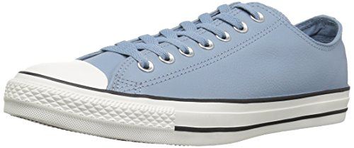 Converse Chuck Taylor All Star Tumbled Leather Low TOP Sneaker, Washed Denim/Washed Denim, 9 M US