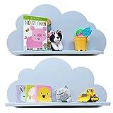 Estantes de nubes para una guardería infantil (par – 2 estantes) estantería...