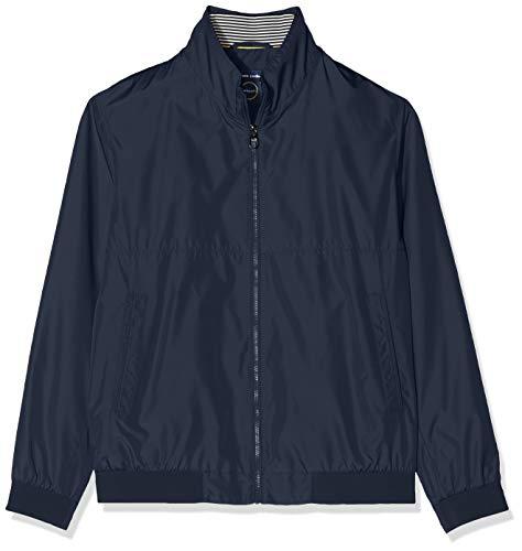 Pierre Cardin Herren Blouson Techno Solid Airtouch Jacke, Blau (Marine 3000), Medium (Herstellergröße: 50)