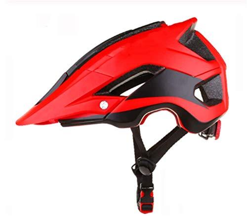 Cascos para Bicicletas al Aire Libre Cascos para Ciclismo para Ciclismo Bicicletas de montaña Skateboard Helmets Cascos Ajustables para Hombres y Mujeres (Color: B) (Color : B)