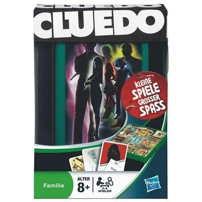 Hasbro 29193100 - Cluedo Kompakt - Reisespiel