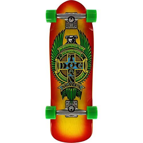 Dogtown Skateboards Eric Dressen Mini Pup Skateboard, 21,6 x 72,4 cm, Gelb / Rot