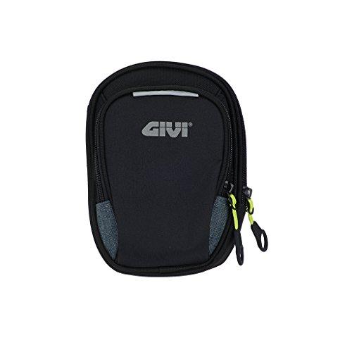 Easy-BAG - Bolsa pernera, color negro, con dos compartimentos, poliéster