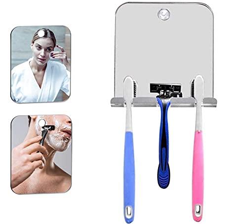 Specchio doccia antiappannamento Specchio doccia antiappannamento Specchio antiappannamento trucco bagno antiappannamento barba manuale antiappannamento cosmetico senza cornice parete per la doccia