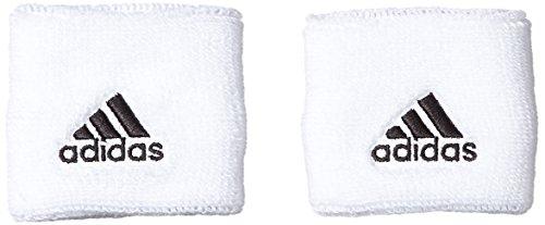 adidas Jungen Accessoire Tennis Wristband S Schweißband, White/Black, S