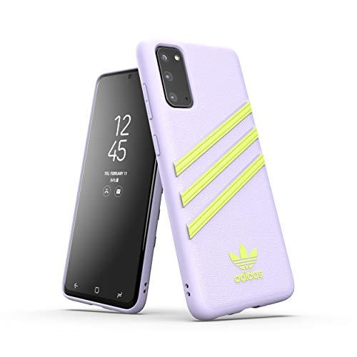 adidas Originals Designed für Samsung Galaxy S20 Hülle DREI Streifen Schutzhülle - Gelb