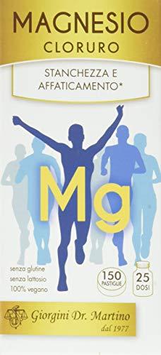 Dr. Giorgini Integratore Alimentare, Magnesio Cloruro Pastiglie - 90 g