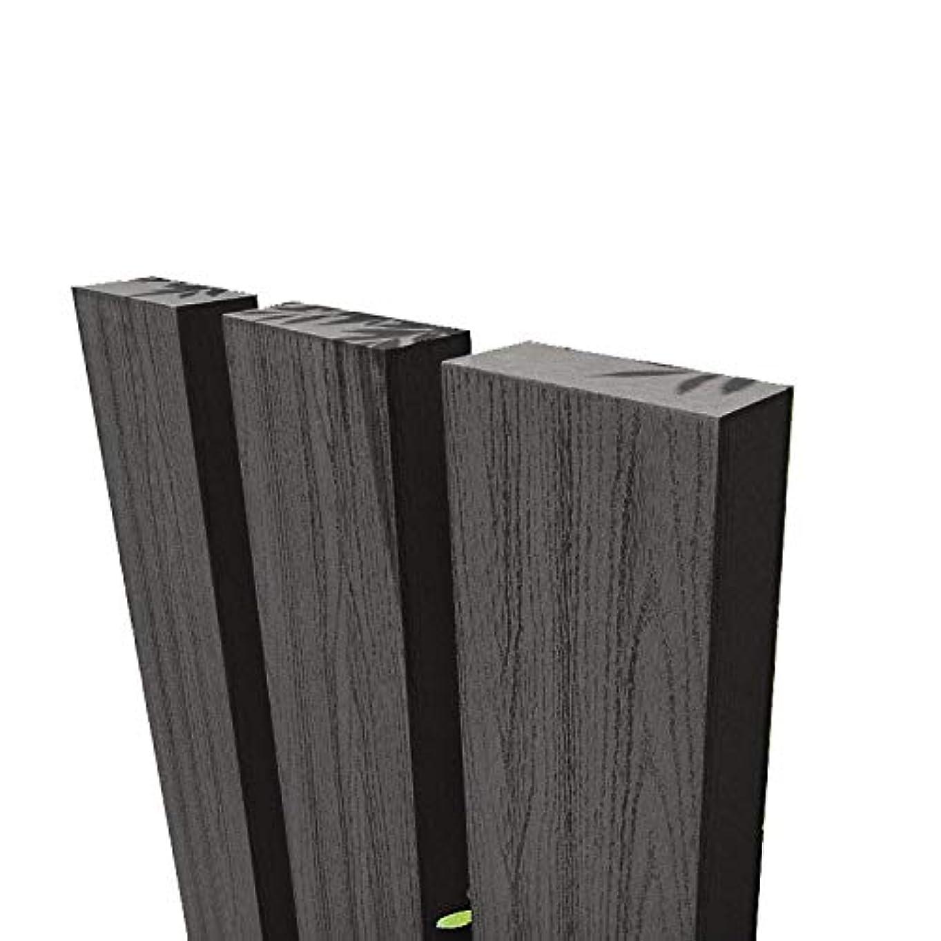 igarden アイガーデン 枕木 ブラック 210cm3本セット アイウッド人工木製