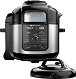 Ninja Ste Foodi 8qt. 9-in-1 Deluxe XL Pressure Cooker & Air Fryer-Stainless Steel/Black