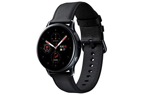 SAMSUNG SM-R820NSKAPHE Galaxy Watch Active 2 - Smartwatch de Acero, 44mm, color Negro,...
