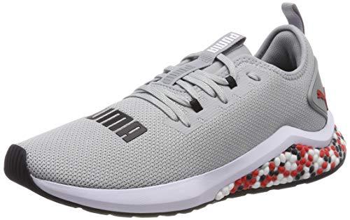 Puma Hybrid NX, Zapatillas de Running para Hombre, Gris (Quarry-High Risk Red White), 43 EU