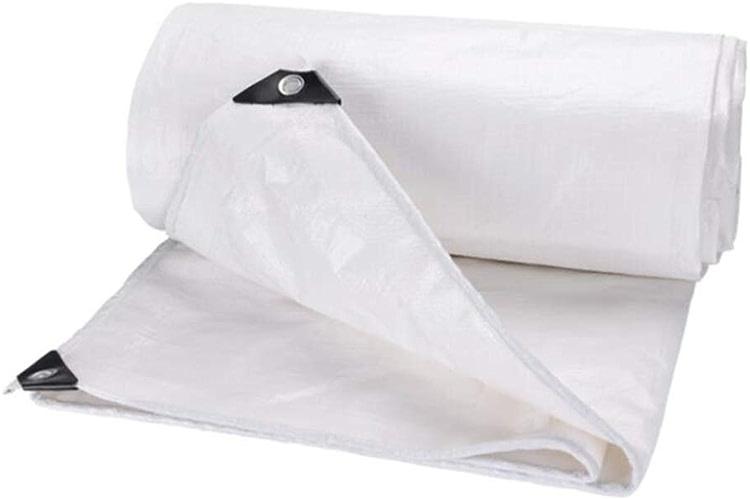 MuMa Bache Blanc épaissir Imperméable Imperméable Crème Solaire Ombre Isolation Plastique (Taille   5  7m)