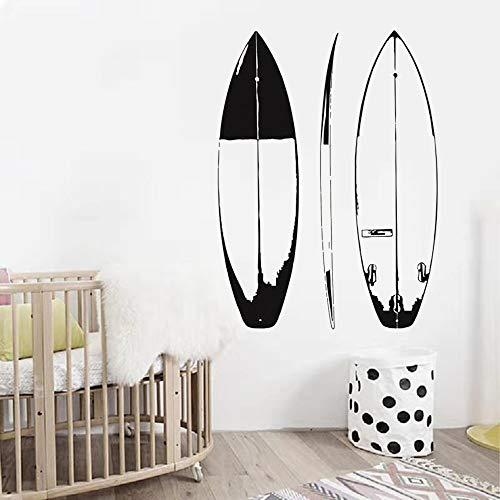 Tabla de surf Calcomanías deportivas de pared Diseño Etiqueta de la pared Deporte extremo Tabla de surf de mar Pegatinas de pared Papel tapiz Otro color 42x57cm