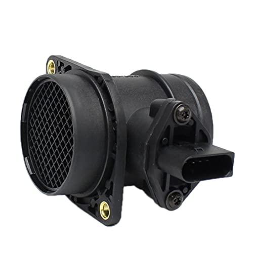 HZLXF1 Sensor de Flujo de Aire masivo MAF para VW Bora Caddy Golf Lupo New Beetle Passat Polo Sharan 0280217121 06A906461 038906461C 0986280202 Sensores de Flujo de Aire