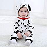 Winter Pyjamas Tiere Baby-Strampler Strampler Anzug Kostm Huhn/Hund Fancy Nachtwsche, 0~30 Monate,Dog,18~23month