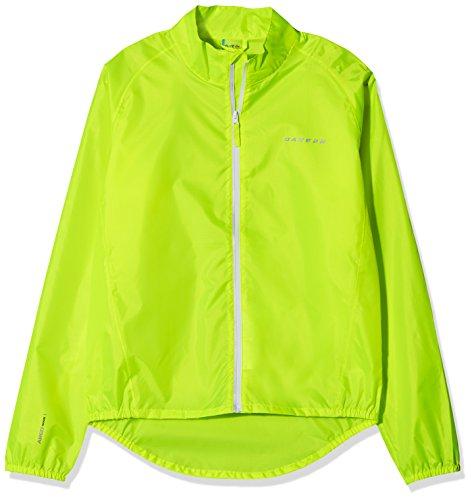 Dare 2b Kinder Sich Cycle wasserdichte Shell Jacke 3XL Gelb - Fluro Yellow