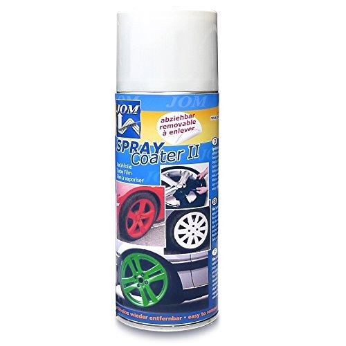 SprayCoater II, Sprühfolie, abziehbarer Felgenlack, weiß, 400ml