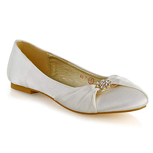 Top 10 best selling list for flat ivory bridal shoes uk