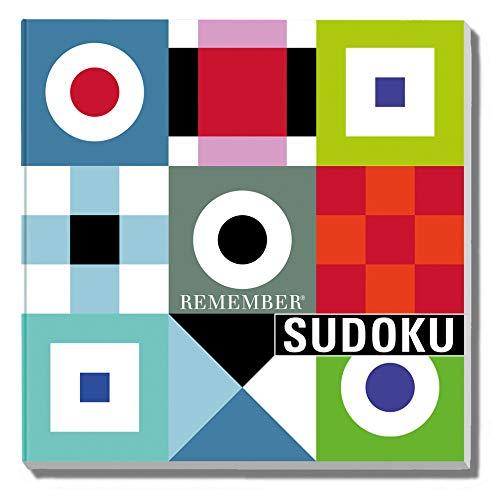 REMEMBER Sudoku – das beliebte Denkspiel als Brettspiel mit Zahlen oder Farben in Klappbox, 9x9
