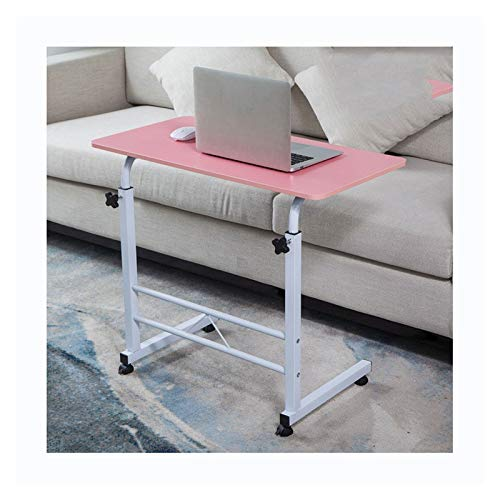 ALBBMY Adjustable Height Table Laptop Cart 23.6' Mobile Table Fancasa Movable Portable Adjustable Notebook Computer Stand (Color : Style G, Size : 80 * 40)